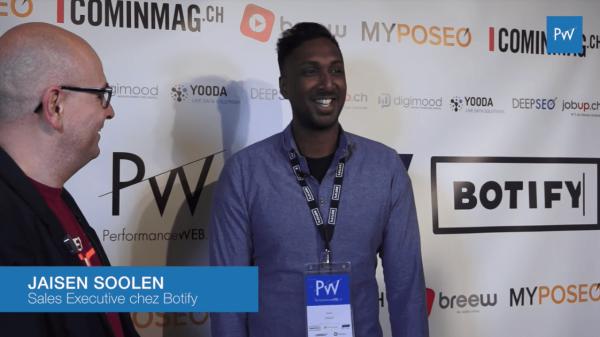 """Jaisen Soolen (Botify) : """"Performance Web c'est the place to be à Genève"""""""