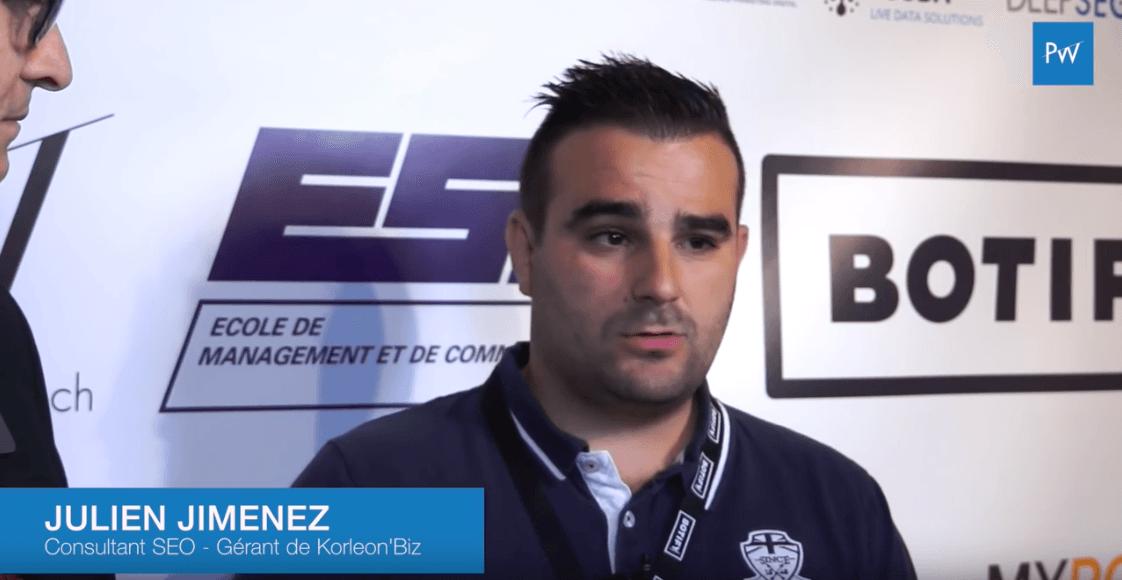 "Julien Jimenez (KorleonBiz) : ""Bravo pour l'organisation !"""