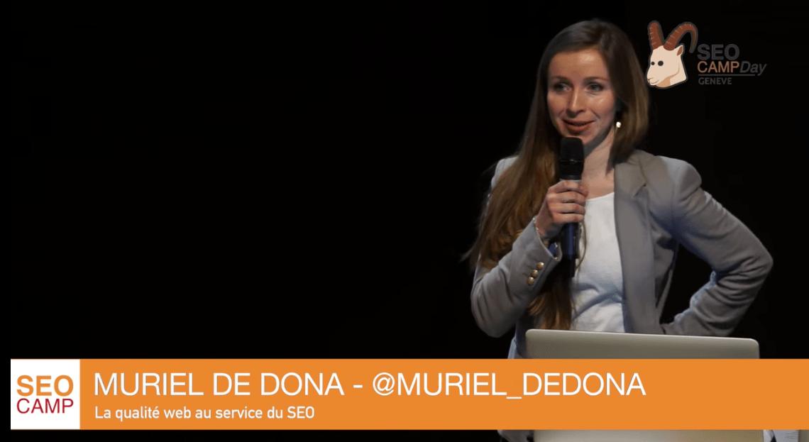 La qualité web au service du SEO par Muriel De Dona
