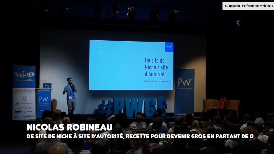 Nicolas Robineau : de site de niche à site d'autorité, la recette