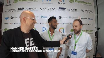 Interview de Jean-Marie Baussa et Hannes Gasser (Webrepublic)